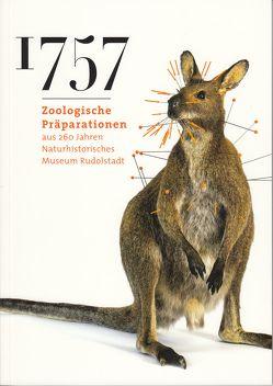 1757 Zoologische Präparation aus 260 Jahren Naturhistorisches Museum Rudolstadt von Curth,  Stefan, Reinhard,  Sandy, Rode-Weingarten,  Anett