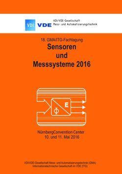 18. GMA / ITG – Fachtagung Sensoren und Messsysteme 2016