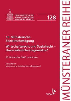 18. Münsterische Sozialrechtstagung von Dörner,  Heinrich, Ehlers,  Dirk, Pohlmann,  Petra, Schulze Schwienhorst,  Martin, Steinmeyer,  Heinz-Dietrich