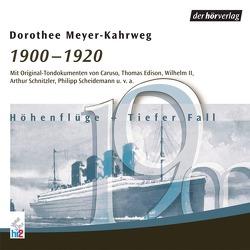 1900-1920 von Caruso,  Enrico, Hauptmann,  Gerhart, Meyer-Kahrweg,  Dorothee, Scheidemann,  Philipp