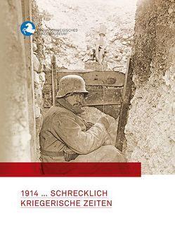 1914 … Schrecklich kriegerische Zeiten von im Auftrag des,  Braunschweigischen Landesmuseums, Otte,  Wulf, Pöppelmann,  Heike, Zimmermann,  Ole