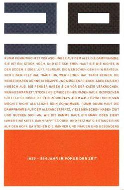 1929 – Ein Jahr im Fokus der Zeit von Dittrich,  Lutz, Wichner,  Ernest, Wiesner,  Herbert