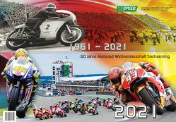 1961-2021 60 Jahre Motorrad-Weltmeisterschaft Sachsenring 2021 von Nöbel,  Hendrik