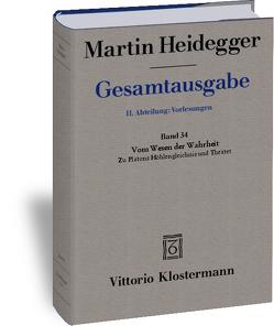 Vom Wesen der Wahrheit von Heidegger,  Martin, Mörchen,  Hermann
