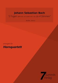 2 Fugen (BWV Anh. 42 & BWV Anh. 105) zu 4 Stimmen – J.S.Bach (arr. Christian Fath) von Fath,  Christian