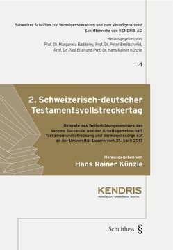 2. Schweizerisch-deutscher Testamentsvollstreckertag von Künzle,  Hans Rainer