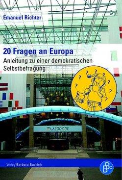 20 Fragen an Europa von Richter,  Emanuel
