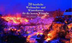 20 herrliche Weihnachts- und Winterkarten für die besten Wünsche