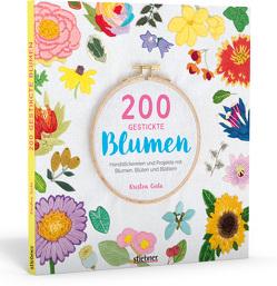 200 gestickte Blumen von Gula,  Kristen