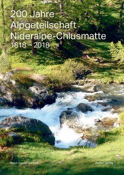 200 Jahre Alpgeteilschaft Nideralpe-Chlusmatte von Arnold,  Klaus