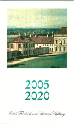2005-2020 Carl Friedrich von Siemens Stiftung von Meier,  Heinrich