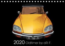 2020 Oldtimer by aRi F. (Tischkalender 2020 DIN A5 quer) von F.,  aRi