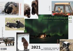2021 Isländischer Kalender & alte Zeitrechnung von Elísabetardóttir,  Karólína