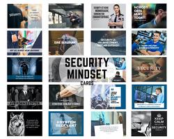 20er Postkarten Set SECURITY mit Bildern, Zitaten & Weisheiten für Motivation und Inspiration von Deliomini,  Kai