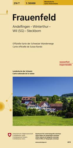216T Frauenfeld Wanderkarte