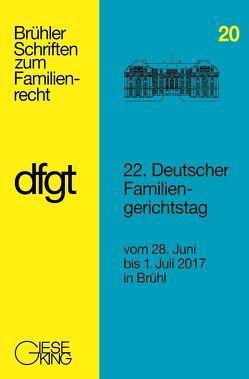 22. Deutscher Familiengerichtstag von Deutscher Familiengerichtstag e.V.