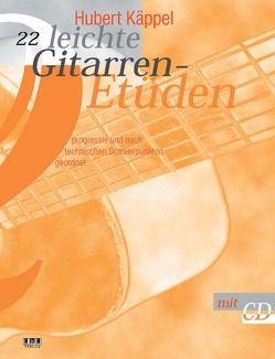 22 leichte Gitarrenetüden von Käppel,  Hubert
