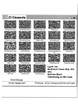 23 Elemente von Tomm-Bub,  Burkhard