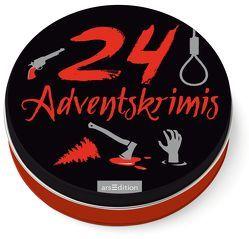 24 Adventskrimis von Solowski,  Marion
