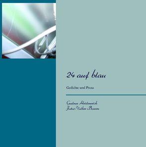 24 auf blau von Bonsen,  Volker, Heidenreich,  Gudrun