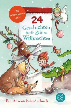24 Geschichten für die Zeit bis Weihnachten von Girmscheid,  Anja