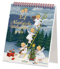 24 nostalgische Weihnachtsgrüße von Baumgarten,  Fritz, Caspari,  Gertrud, Döring,  Lia, Ebner,  Pauline, Engelhard,  Paul Otto, Kutzer,  Ernst, von Olfers,  Sibylle, Wenz-Viëtor,  Else