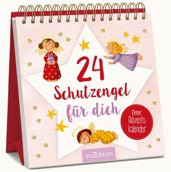 24 Schutzengel für dich – Kleiner Adventskalender von Rühmer,  Yo