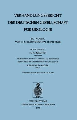 24. Tagung vom 13. bis 16. September 1972 in Hannover von Büscher,  H.-K., Nagel,  R.