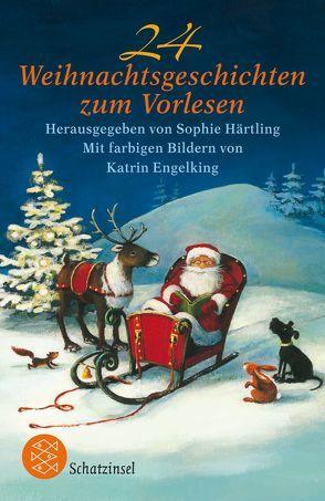 24 Weihnachtsgeschichten zum Vorlesen von Engelking,  Katrin, Härtling,  Sophie
