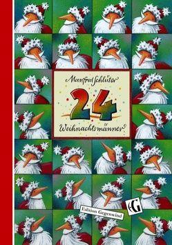 24 Weihnachtsmänner von Schlüter,  Manfred