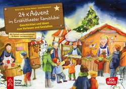 24 x Advent im Erzähltheater Kamishibai. Adventskalender. von Lefin,  Petra