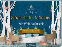 24 Zauberhafte Märchen zur Weihnachtszeit. Ein Adventsbuch zum Aufschneiden von Enders,  Marielle