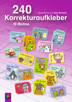 240 Korrekturaufkleber von Boretzki,  Anja