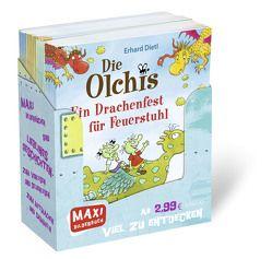 24er VK Maxi Box Die Olchis von Dietl,  Erhard