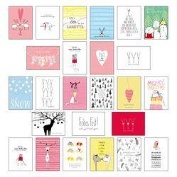25 handgemachte Weihnachtskarten Teil 2 von Wirth,  Lisa