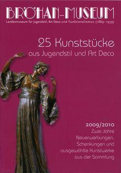 25 Kunststücke aus Jugendstil und Art Deco. von Becker,  Ingeborg, Kanowski,  Claudia, König,  Sandra, Sigalas,  Vanessa