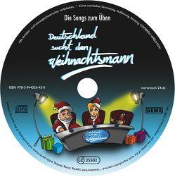 """25 Übungs-CDs """"Deutschland sucht den Weihnachtsmann"""""""