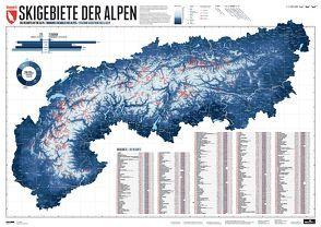 275 Skigebiete der Alpen von Bragina,  Lana, Spiegel,  Stefan