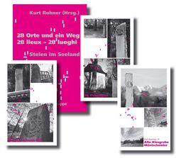 28 Orte und ein Weg – 28 lieux – 28 luoghi von Aeschbacher,  Ursi Anna, Pogacnik,  Marko, Rodewald,  Raimund, Rohner,  Kurt