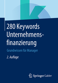280 Keywords Unternehmensfinanzierung von Springer Fachmedien Wiesbaden