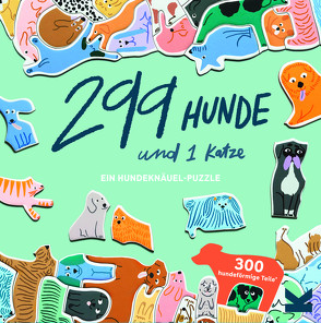 299 Hunde und 1 Katze von Maupetit,  Léa, Vogel-Ropers,  Anne