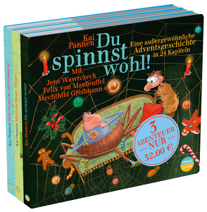 """3 Abenteuer """"Du spinnst wohl!"""" von Großmann,  Mechthild, Pannen,  Kai, Singer,  Theresia, u.v.a., von Manteuffel,  Felix, Wawrczeck,  Jens"""