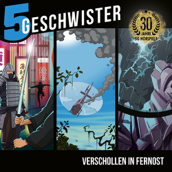3-CD-Box Verschollen in Fernost – 5 Geschwister