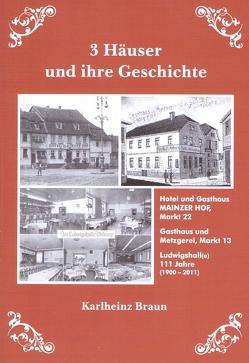 3 Häuser und ihre Geschichte von Braun,  Karlheinz