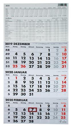 3-Monatskalender 2020