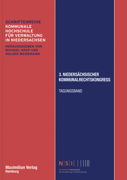 3. Niedersächsischer Kommunalrechtskongress von Seybold,  Jan