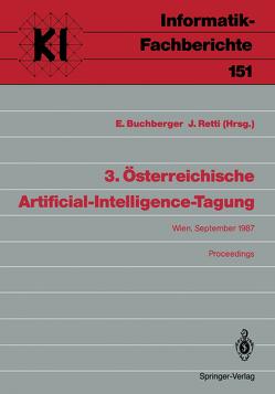 3. Österreichische Artificial-Intelligence-Tagung von Buchberger,  Ernst, Retti,  Johannes