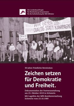 30 Jahre Friedliche Revolution: Zeichen setzen für Demokratie und Freiheit.