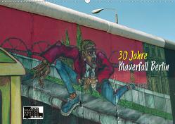 30 Jahre Mauerfall Berlin (Wandkalender 2020 DIN A2 quer) von Kersten,  Peter