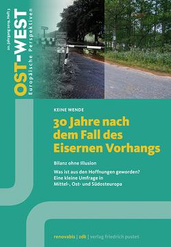 30 Jahre nach dem Fall des Eisernen Vorhangs von Renovabis e.V.,  Zentralkomitee der deutschen Katholiken